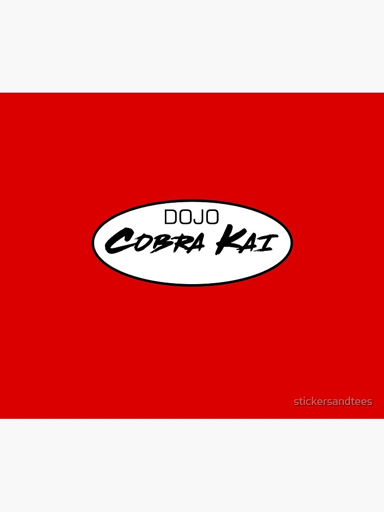 DOJO Cobra Kai Car Sticker by stickersandtees