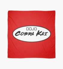 DOJO Cobra Kai Car Sticker Scarf