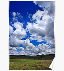 Country sky Poster