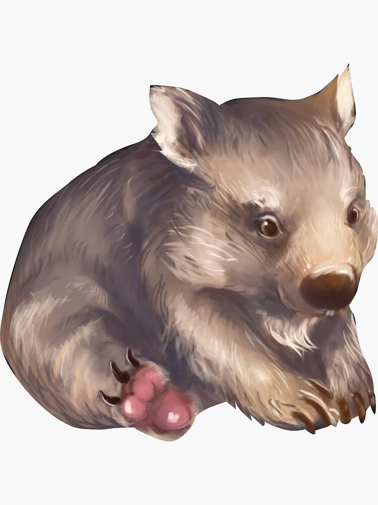 Wombat by aakffarel