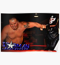 "Tribute To Big Bill Anderson ""Starman Jr. - Spinning Wristlock"" Poster"