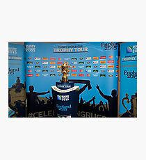 THE RUGBY WORLD CUP Photographic Print