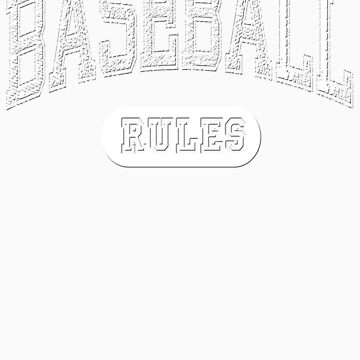 Baseball Rules - Dark by maxkroven