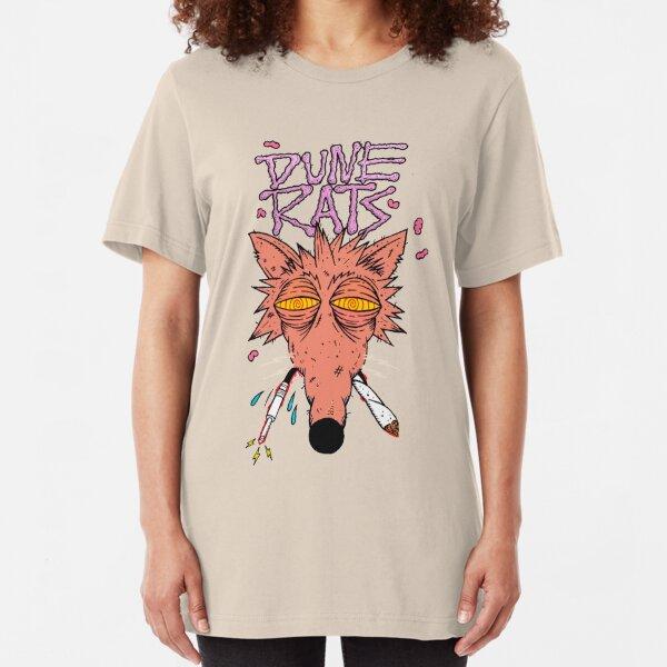 dune rats - electric rats Slim Fit T-Shirt