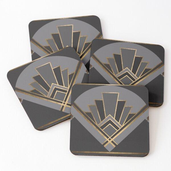 Art Deco Graphic No. 82 Coasters (Set of 4)