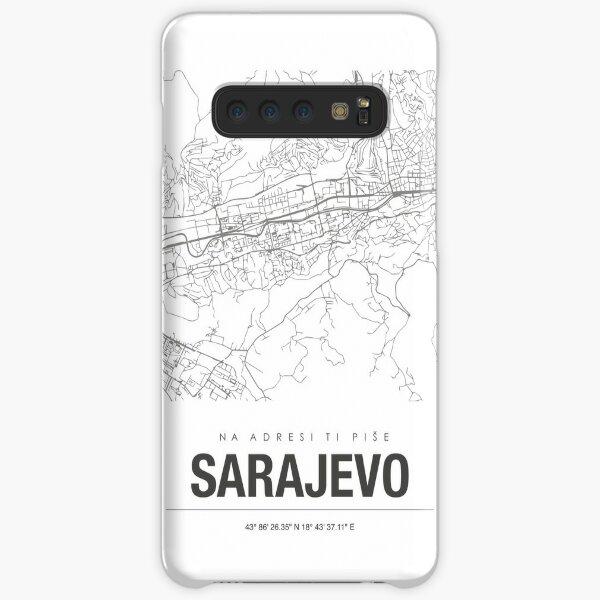 Sarajevo Karte Samsung Galaxy Leichte Hülle