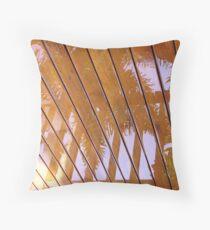 Rain Reflection Throw Pillow