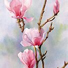 Pink Magnolias by Joe Cartwright