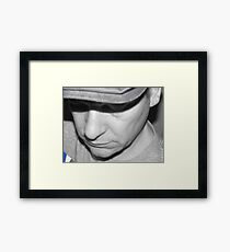 Just Justin Framed Print