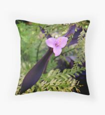 Forest Fusion Throw Pillow