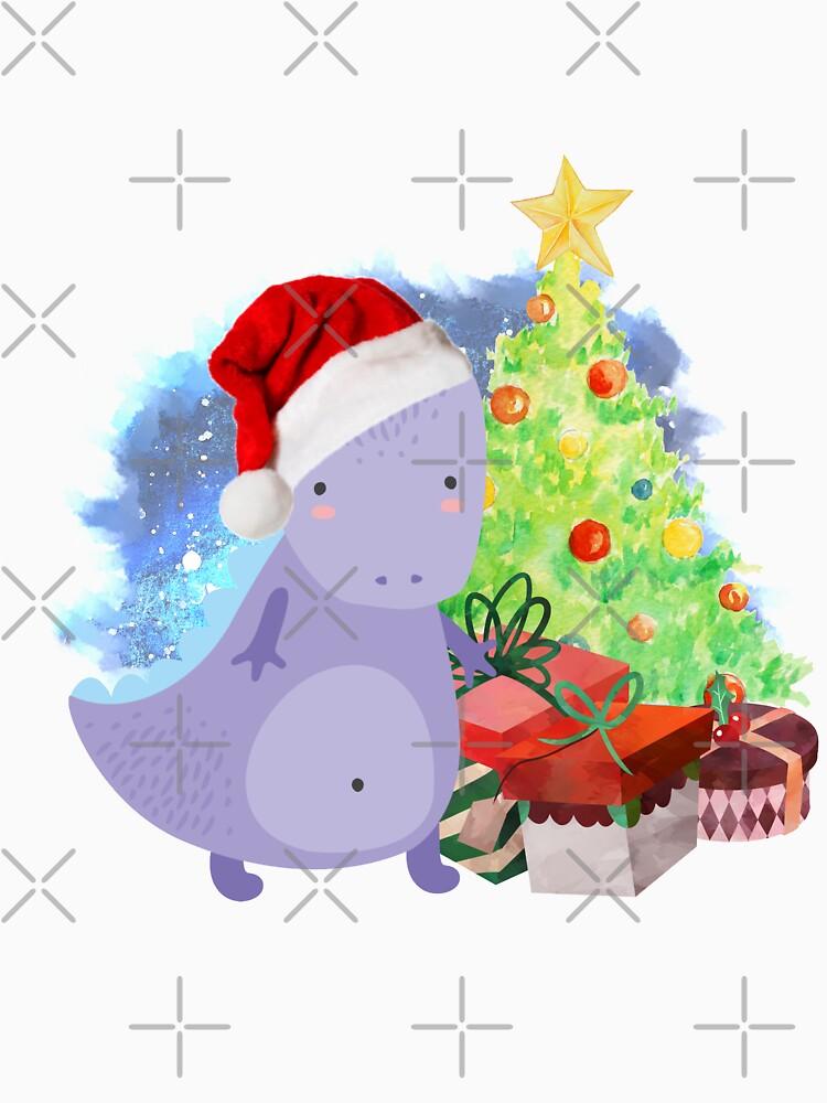Treesaurus: a Dinosaur Christmas by tribbledesign