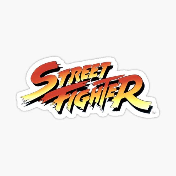 street fighter Sticker