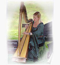 Harpist Poster
