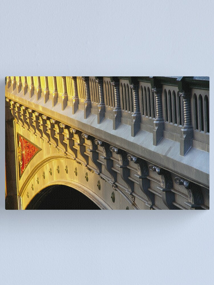 Alternate view of Is It Gold? Or Is It Silver? Canvas Print