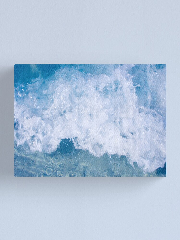 Alternate view of Wave #3 Canvas Print