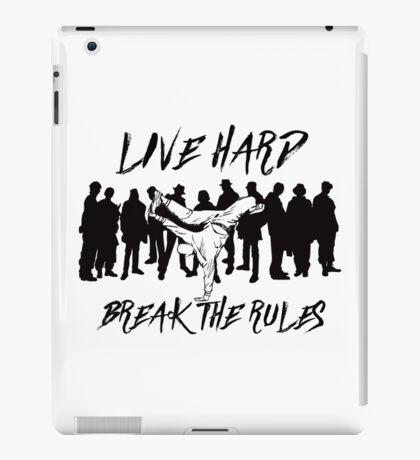 Break Dancing - Break The Rules iPad Case/Skin