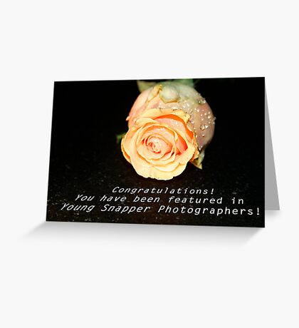 Learning to Bloom:  Feature Banner Greeting Card