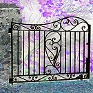 Glorious Garden Gate by ©The Creative  Minds