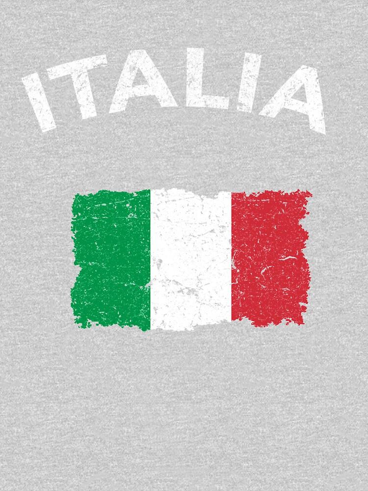 Vintage Italian Flag by vladocar