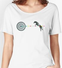 On Target : Sagittarius Women's Relaxed Fit T-Shirt