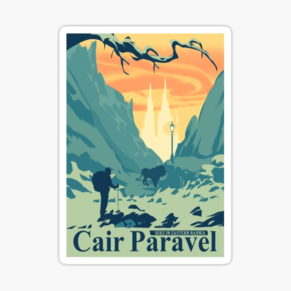 Cair Paravel Narnia Sticker