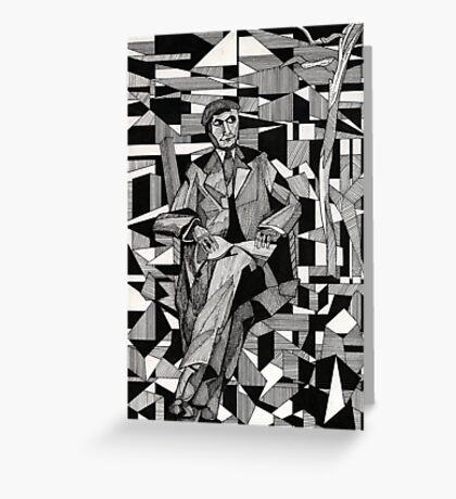 140 - JACQUES NAYRAL - DAVE EDWARDS - INK - 1987 Greeting Card