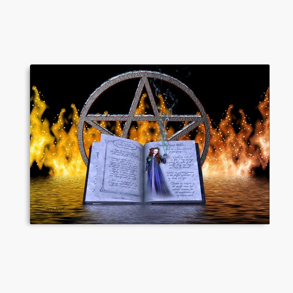 Fire and Water Spell Lienzo