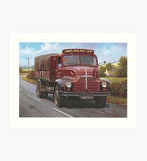 Leyland Comet 1949 Art Print