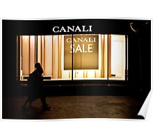 Macquarie street store front Poster