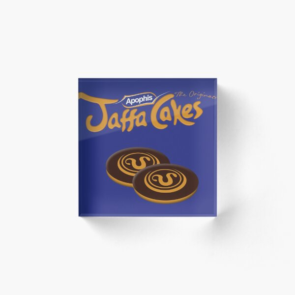 Apophis Jaffa Cakes Acrylic Block