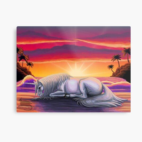 Sleeping sun  Metal Print
