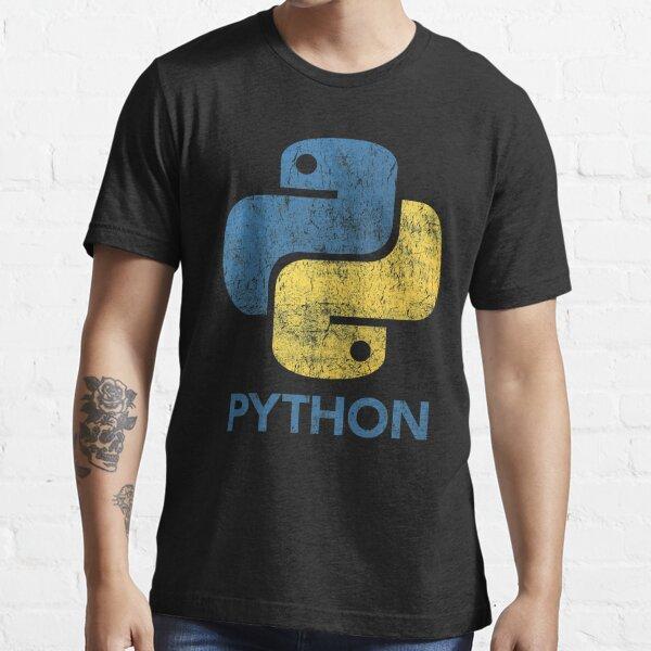 Retro Python Programmer Essential T-Shirt