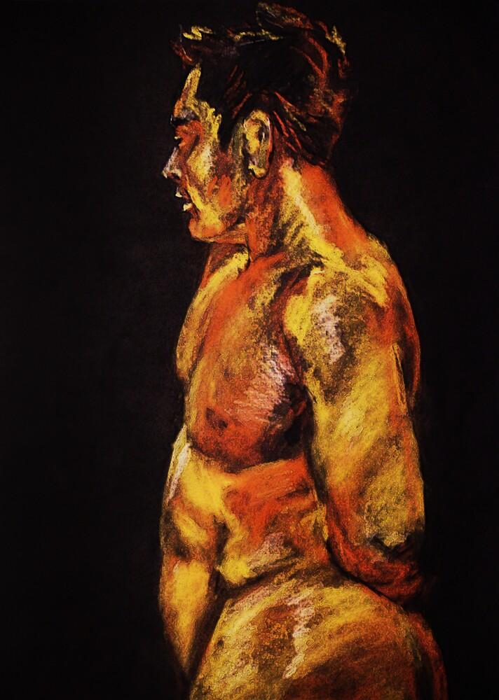 male figure by Zack Nichols