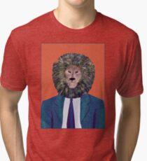 Mr. Lion's portrait Tri-blend T-Shirt