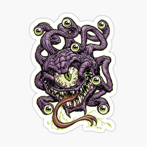 BEHOLD! Sticker