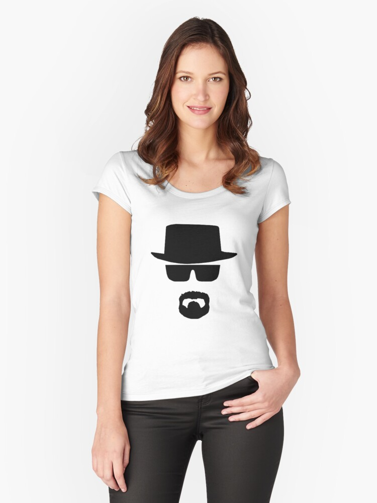 HeisenBerg Low Cost Women's Fitted Scoop T-Shirt Front