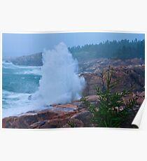 Big Splash Cape Breton Poster