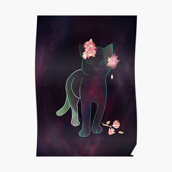 Ghost kitten Poster