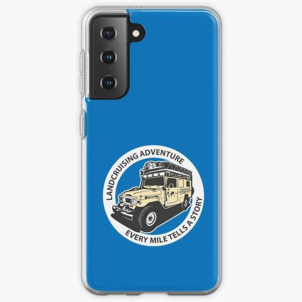 Blue Circle  Samsung Galaxy Soft Case