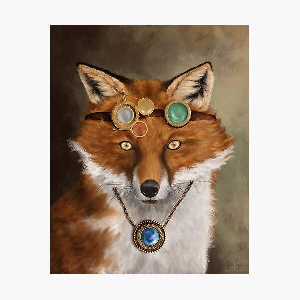 The Alchemist Fox Photographic Print