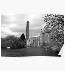 'New Mill', Tonge, Kent Poster