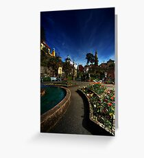 Portmeirion on a Spring day Greeting Card