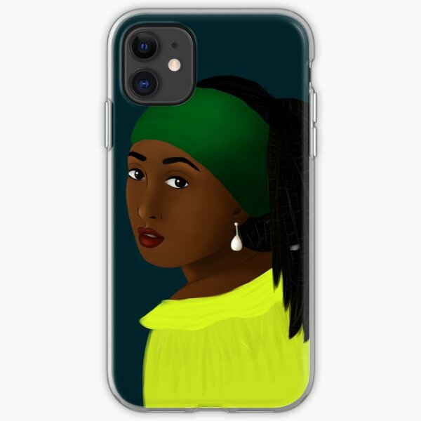The girl with the pearl earring 2.0 iPhone Soft Case