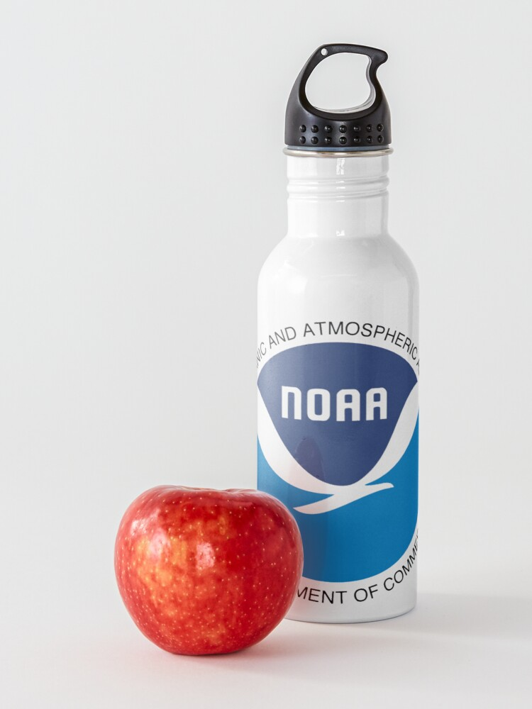 Alternate view of  National Oceanic and Atmospheric Administration Logo Water Bottle