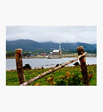 Foggy Day in Cheticamp Photographic Print