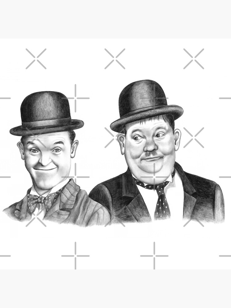 Stan Laurel & Oliver Hardy by mags0412