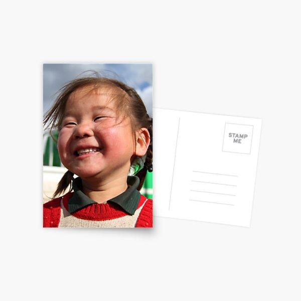 Mongolian girl Postcard