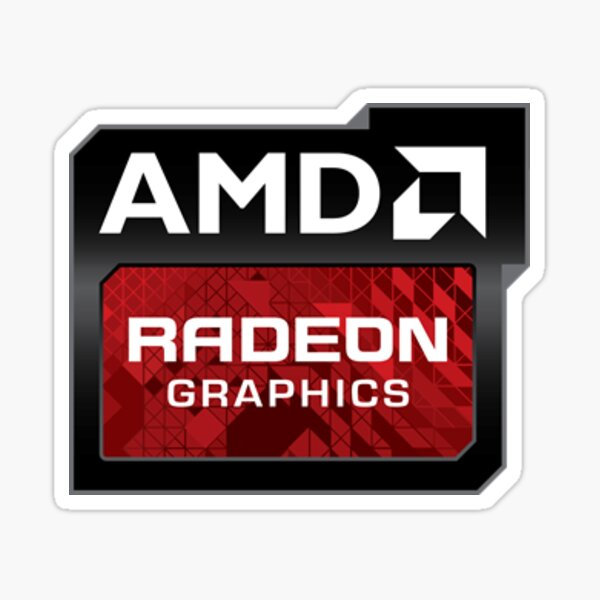 Amd Radeon Graphics Sticker Sticker
