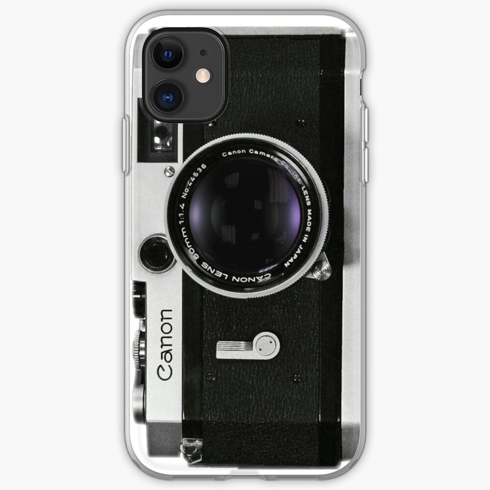 Vintage Canon Rangefinder iPhone Case & Cover