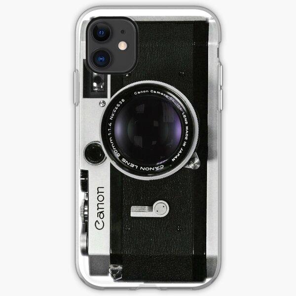 Vintage Canon Rangefinder iPhone Soft Case